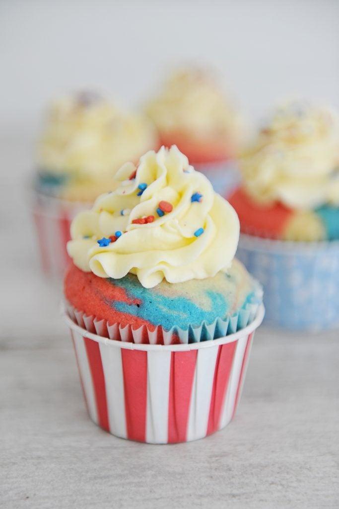 Tie dye cake mix 8