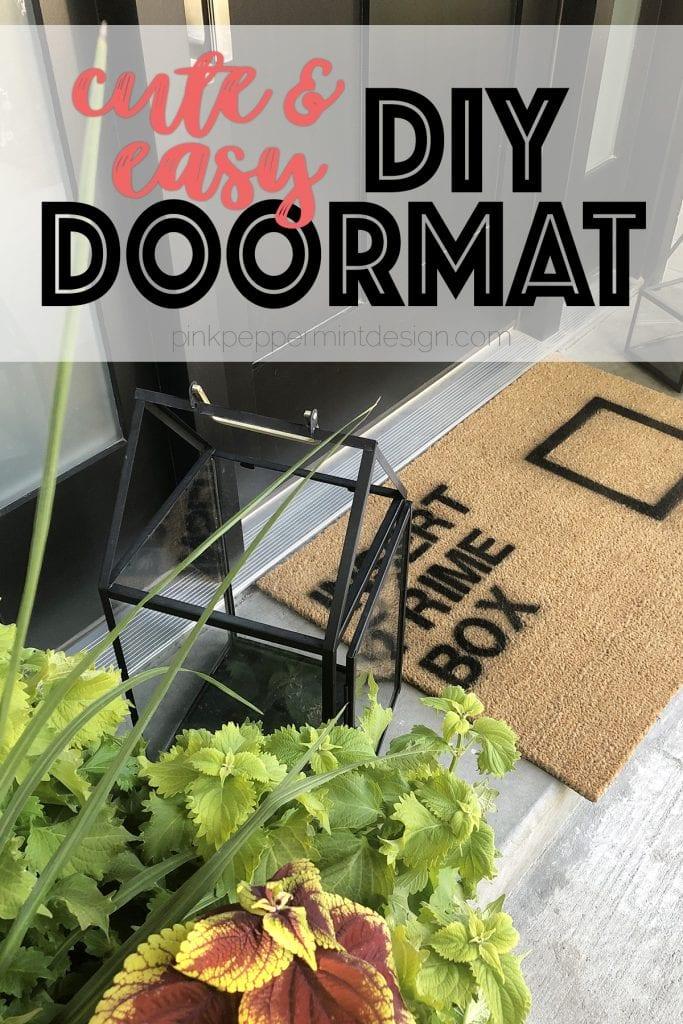 Diy doormat ideas 5