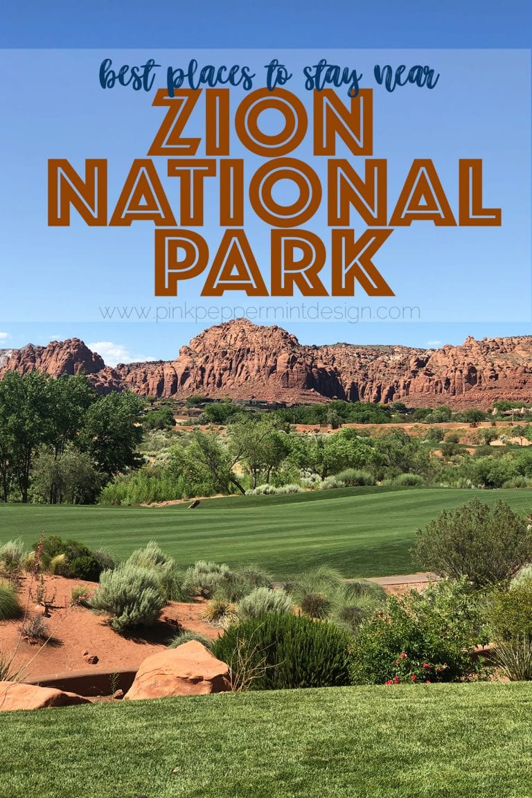 Places to stay near zion national park