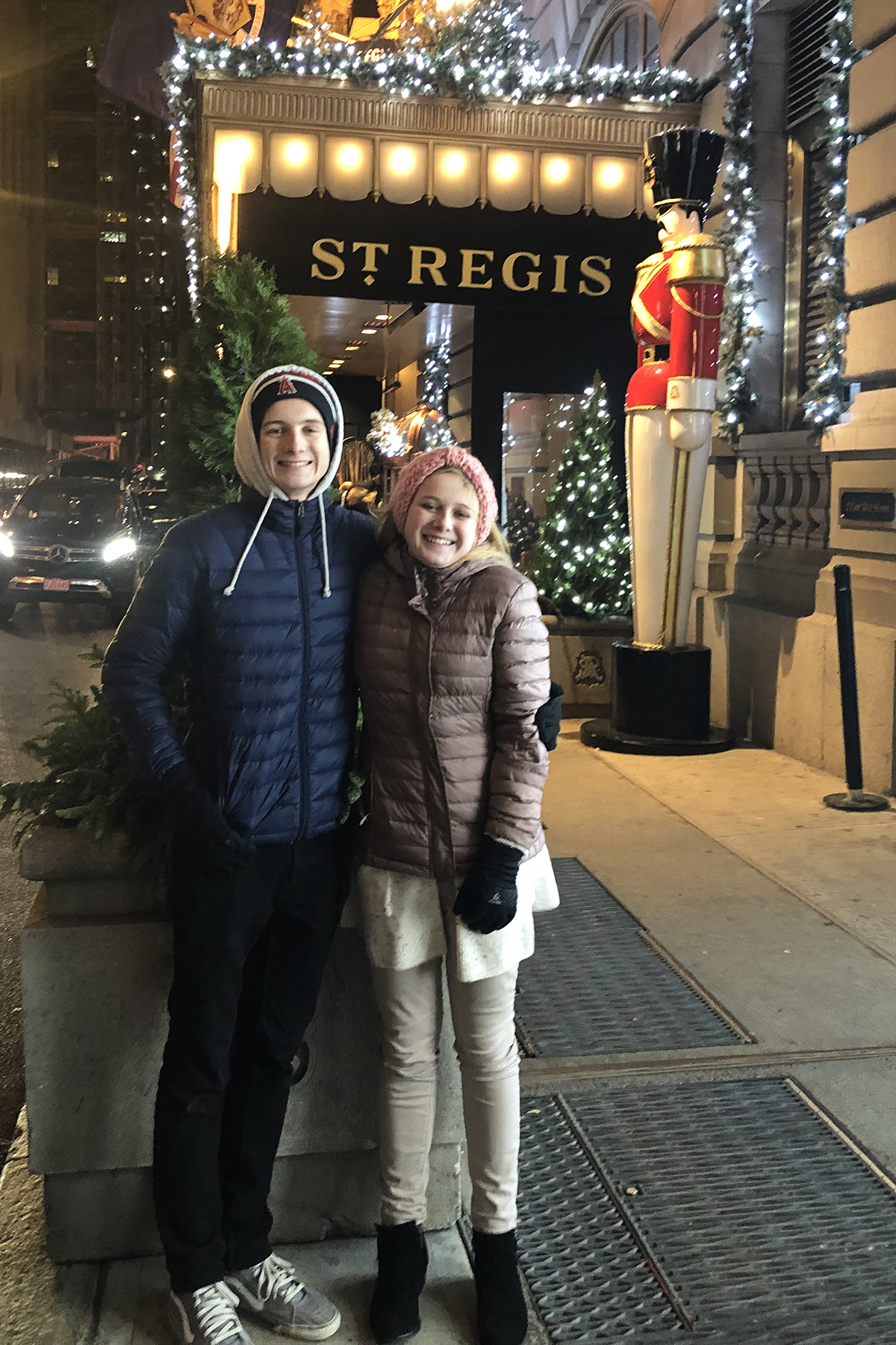 The st regis nyc at christmas