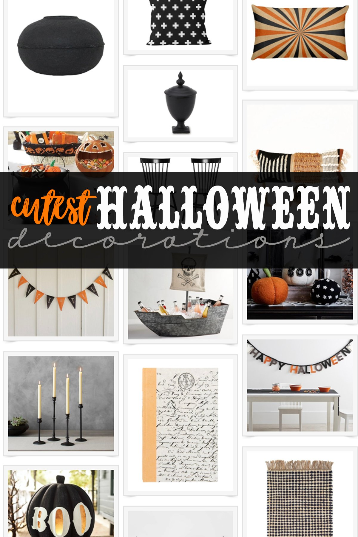 Cute indoor halloween decorating ideas
