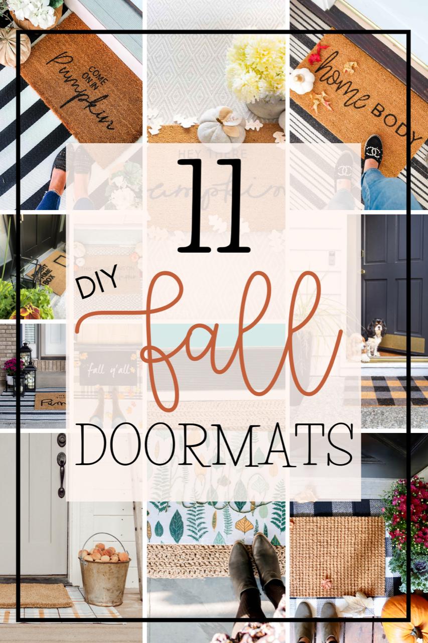DIY Doormat Ideas