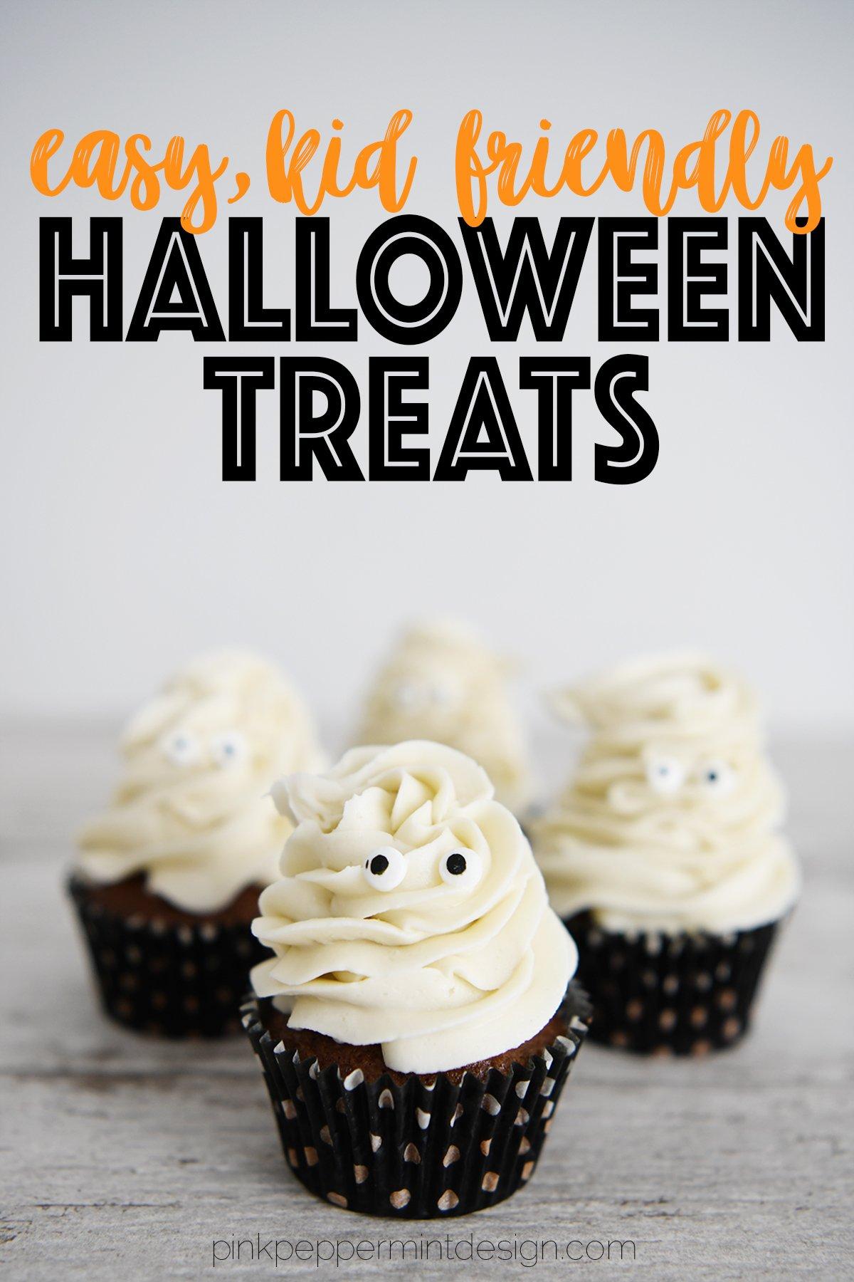 Kid friendly halloween treats