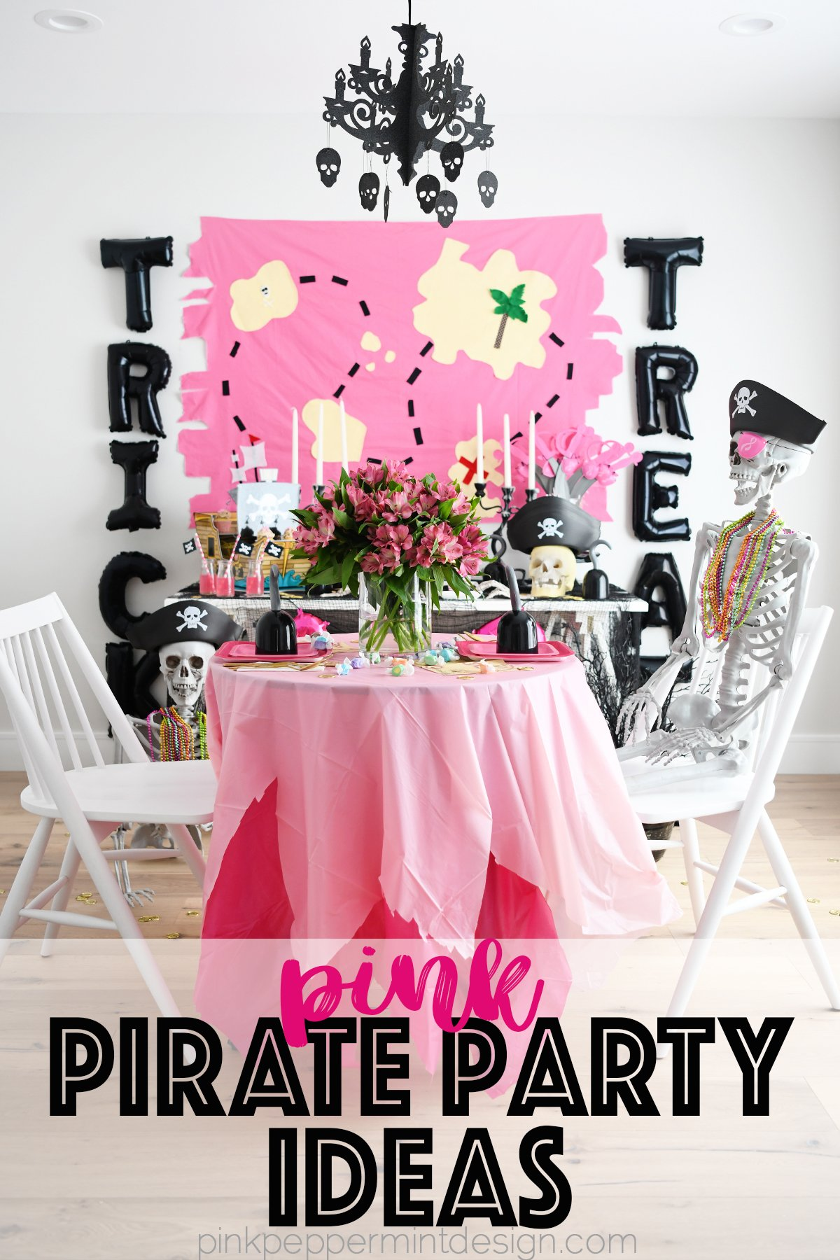 Pink pirate party ideas
