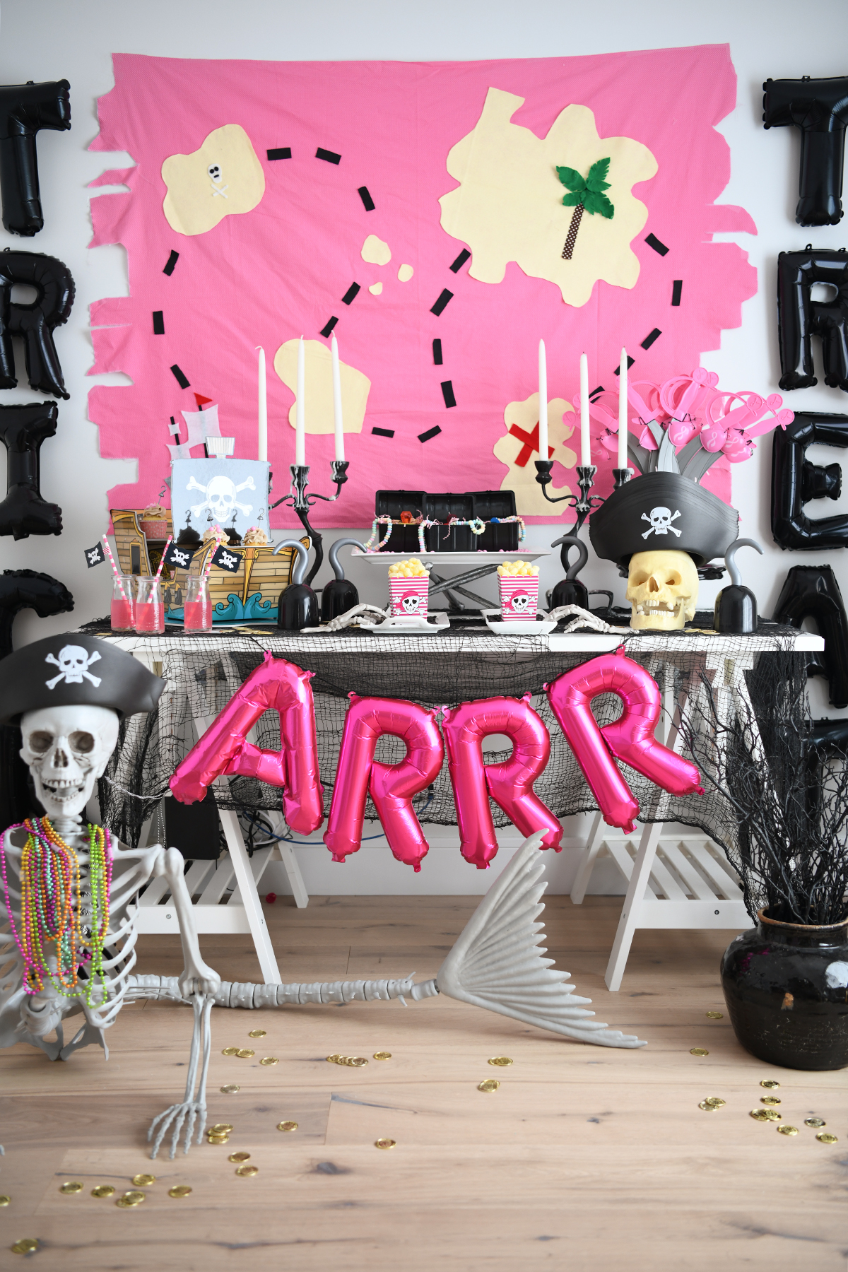Pirate party ideas for halloween