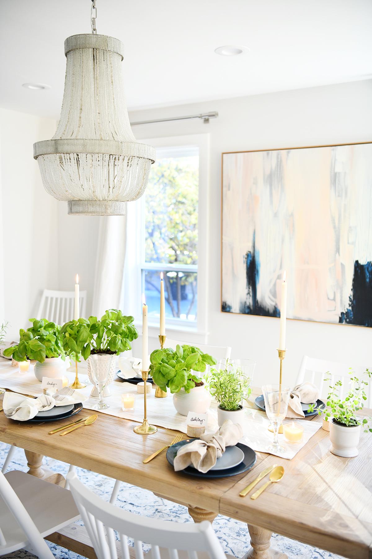 Thanksgiving table setting 10