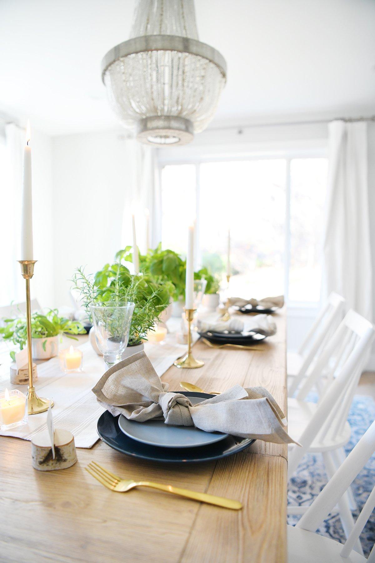 Thanksgiving table setting 4