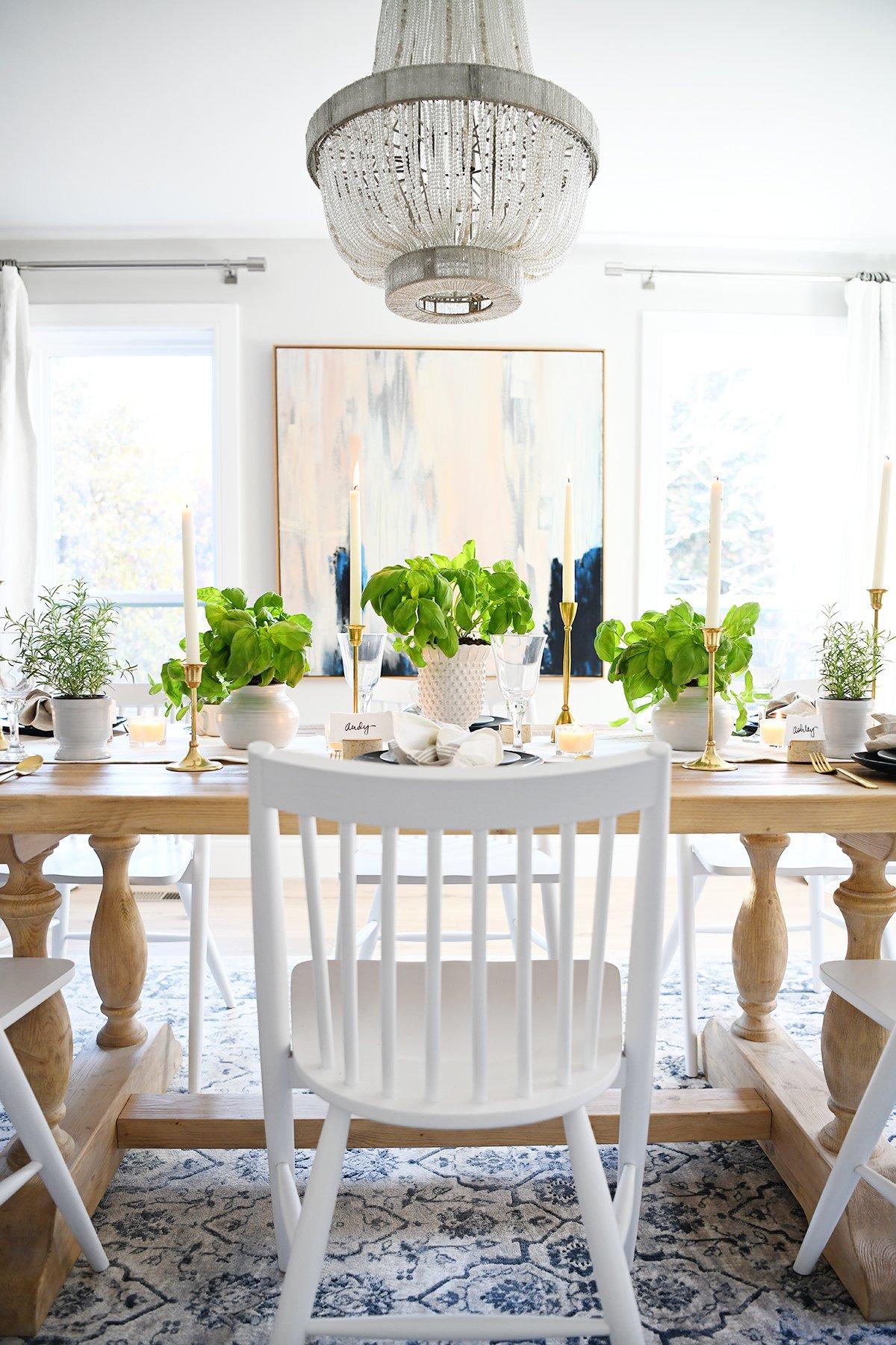 Thanksgiving table settings 3