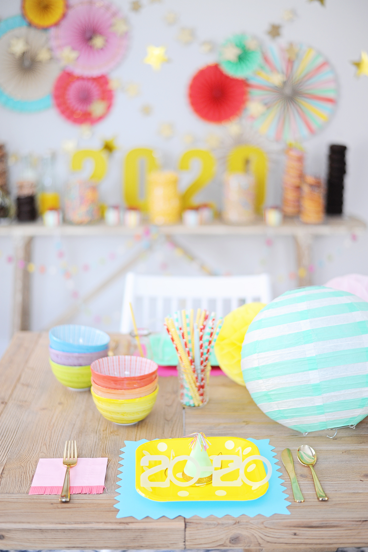 Colorful new years eve party ideas 4 1