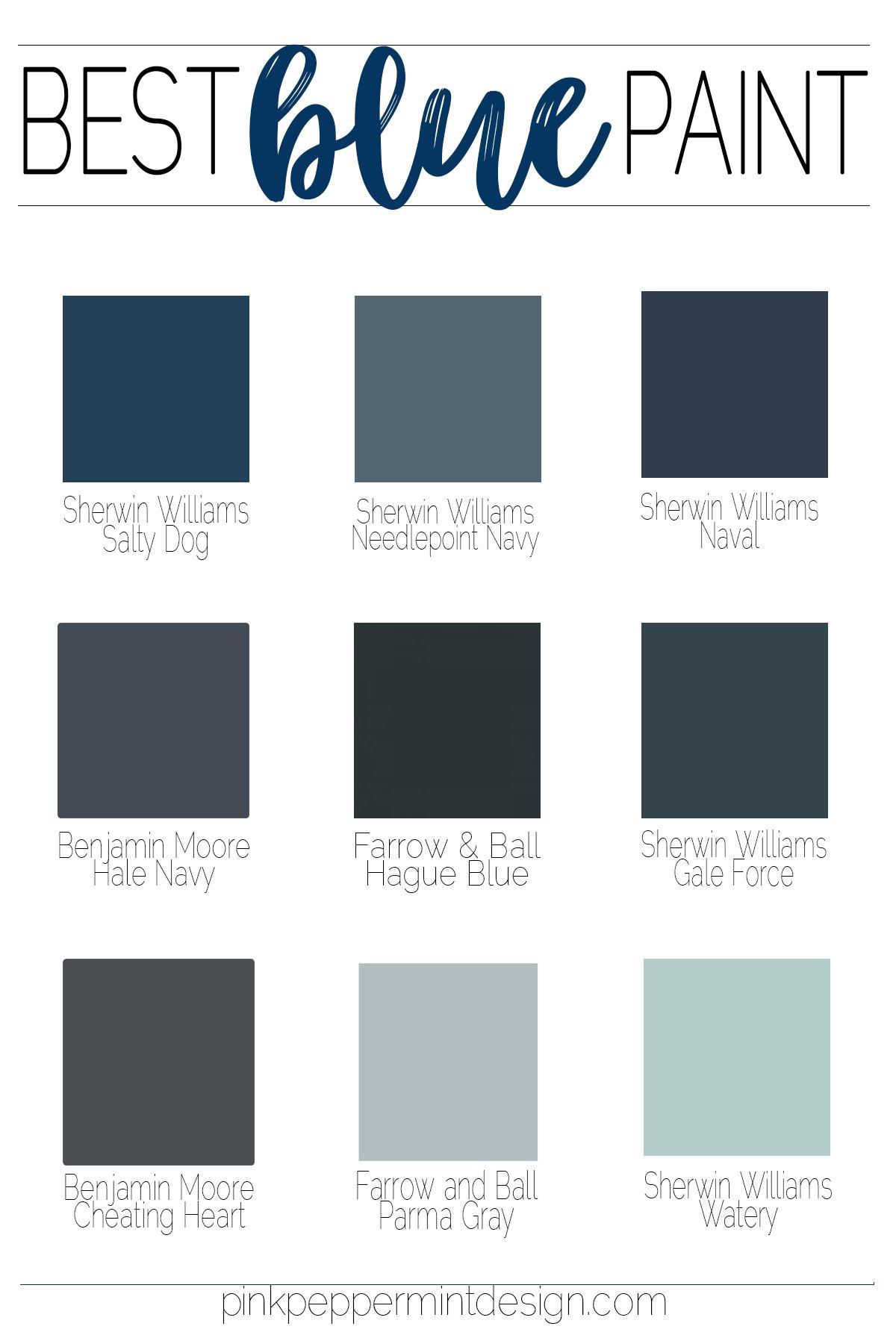 Best blue paint