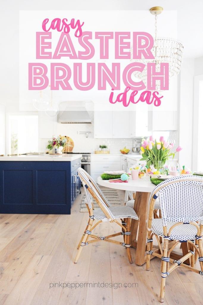 Easy easter brunch table decor ideas
