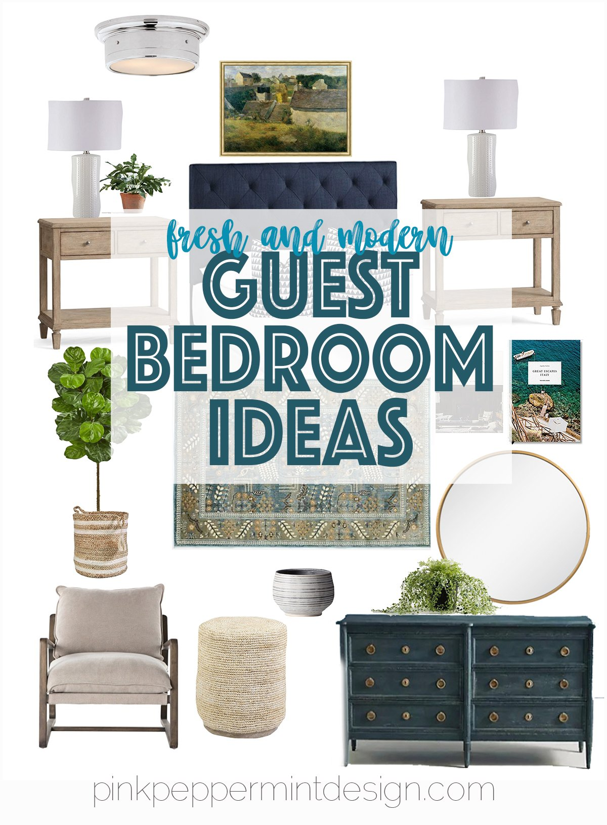 Fresh and modern guest bedroom ideas