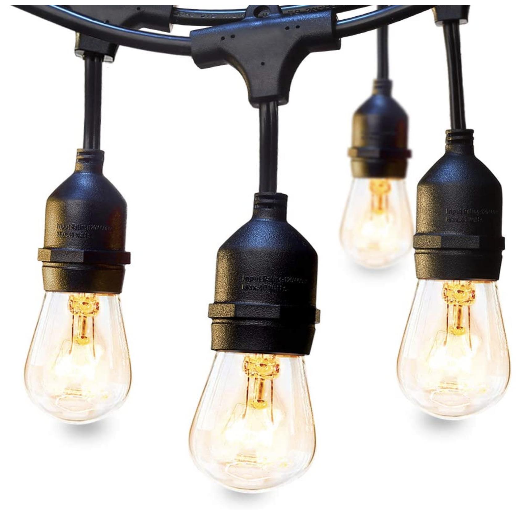 best backyard string lights