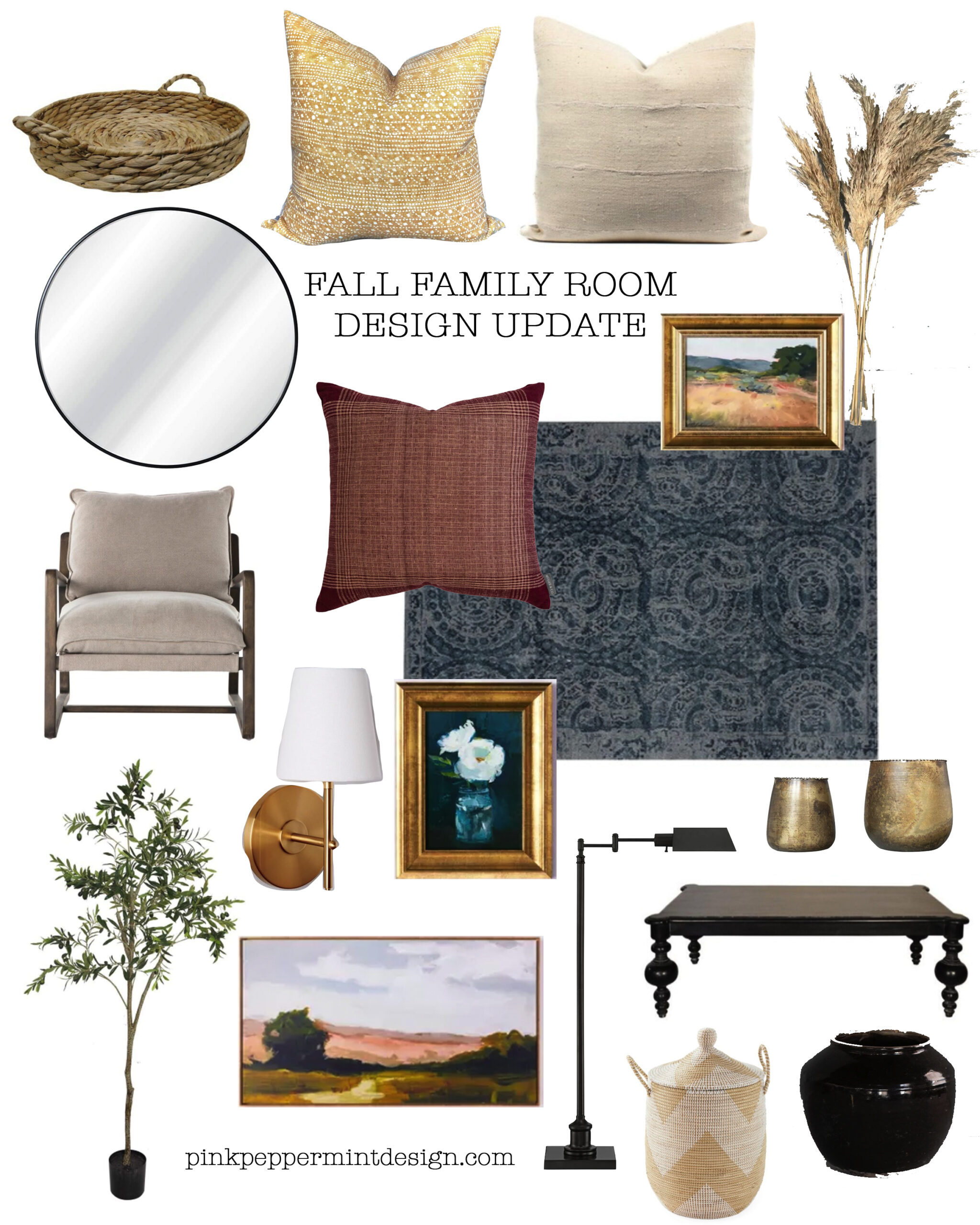 Fall family room design ideas