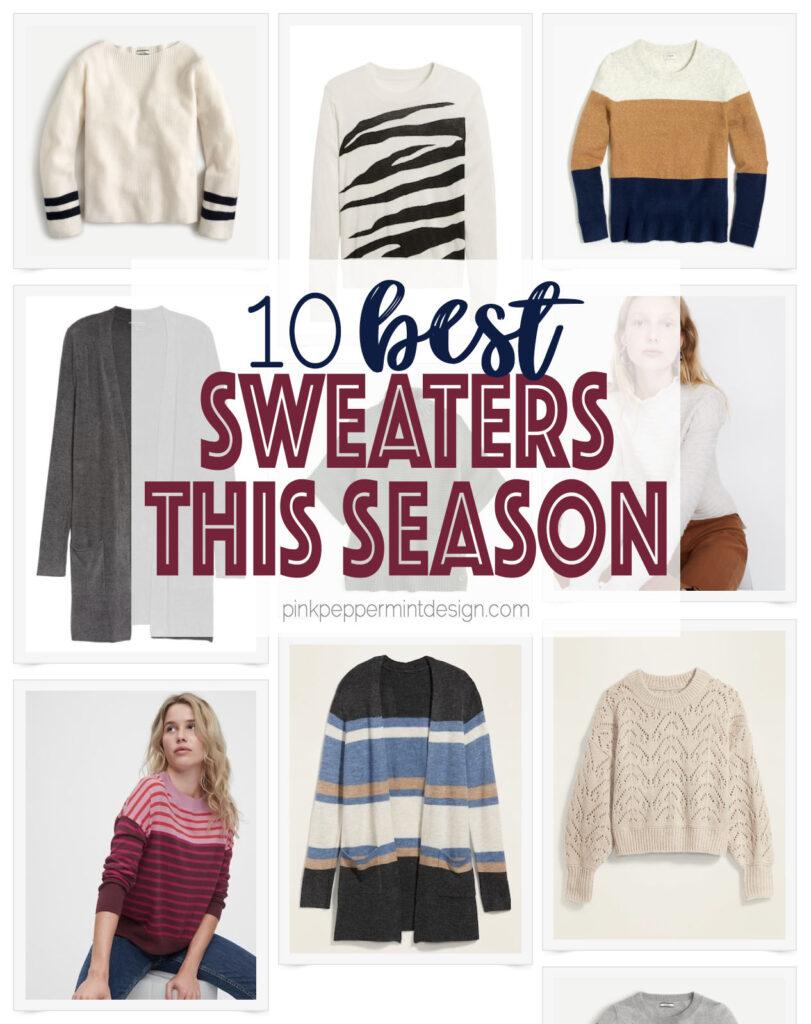 10 best sweaters this season