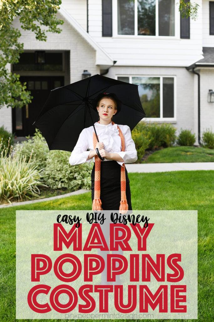 DIY Disney Costumes Mary Poppins