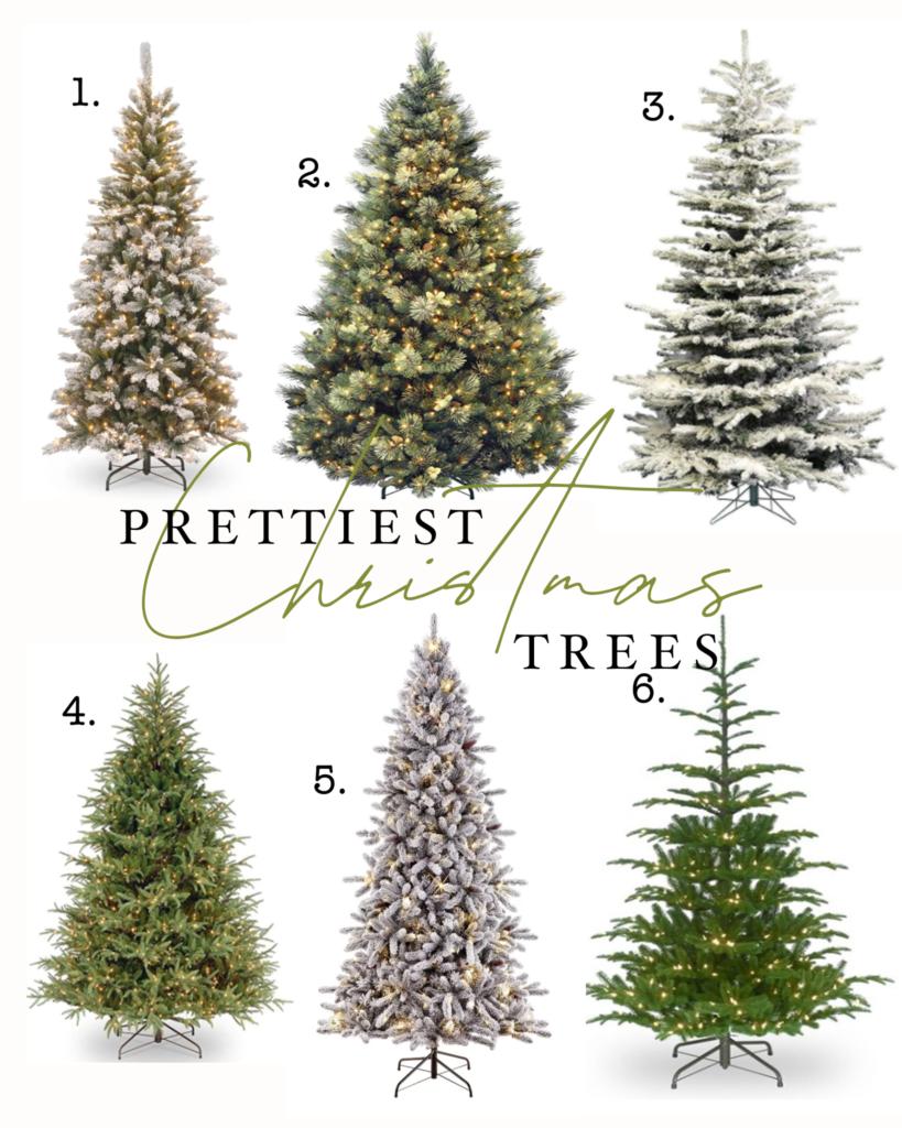prettiest Christmas trees