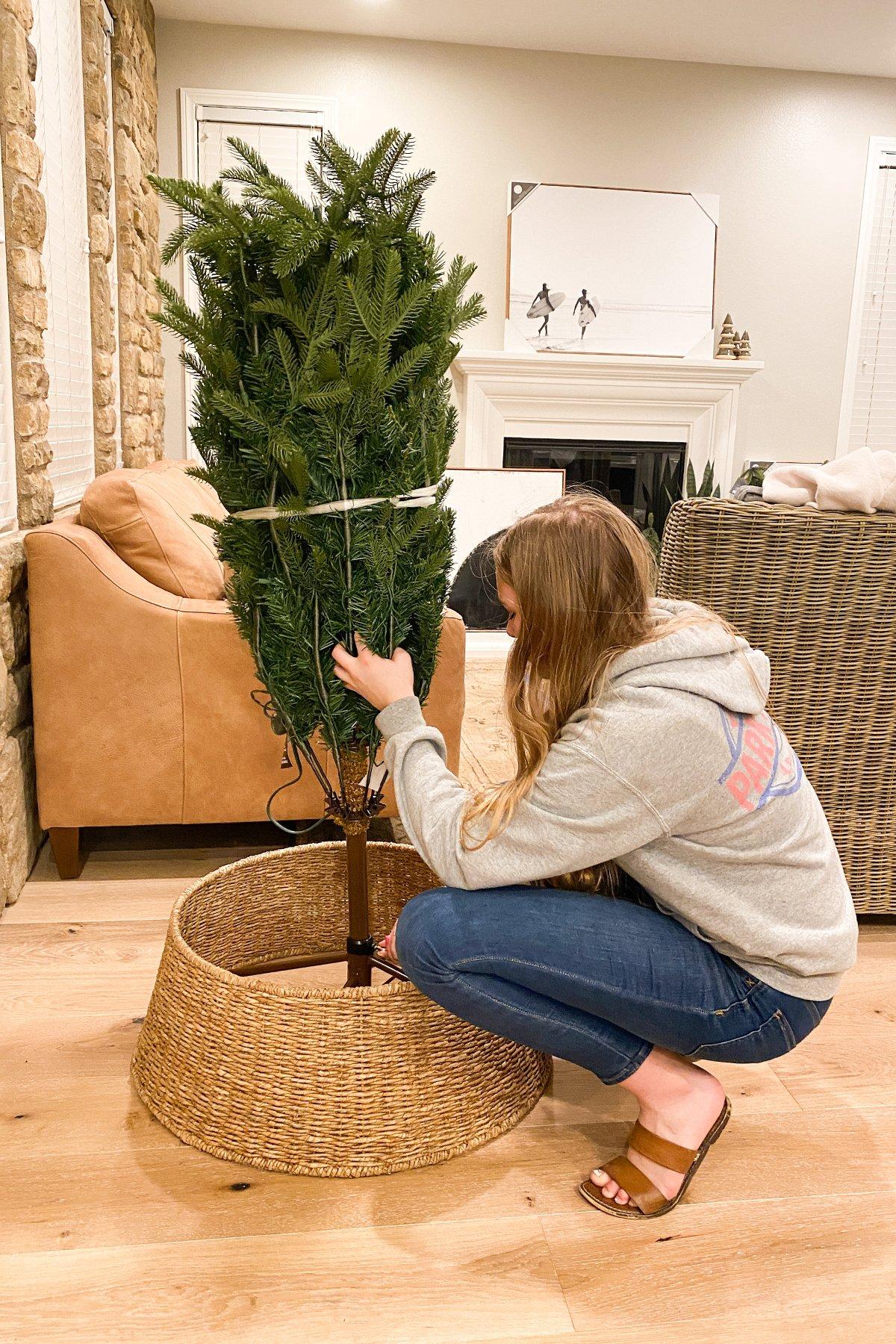 Christmas tree storage