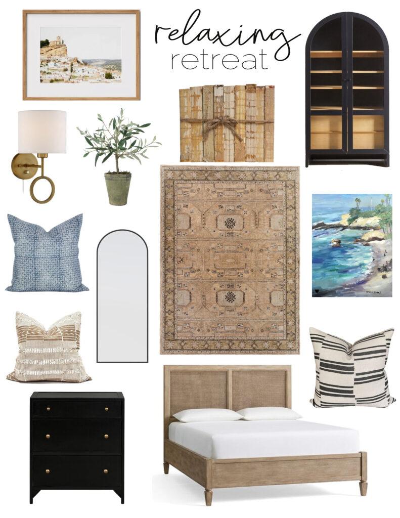 Relaxing bedroom design ideas