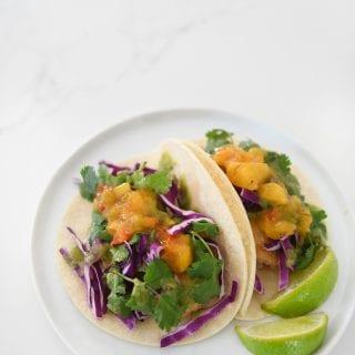 Shrimp tacos 1