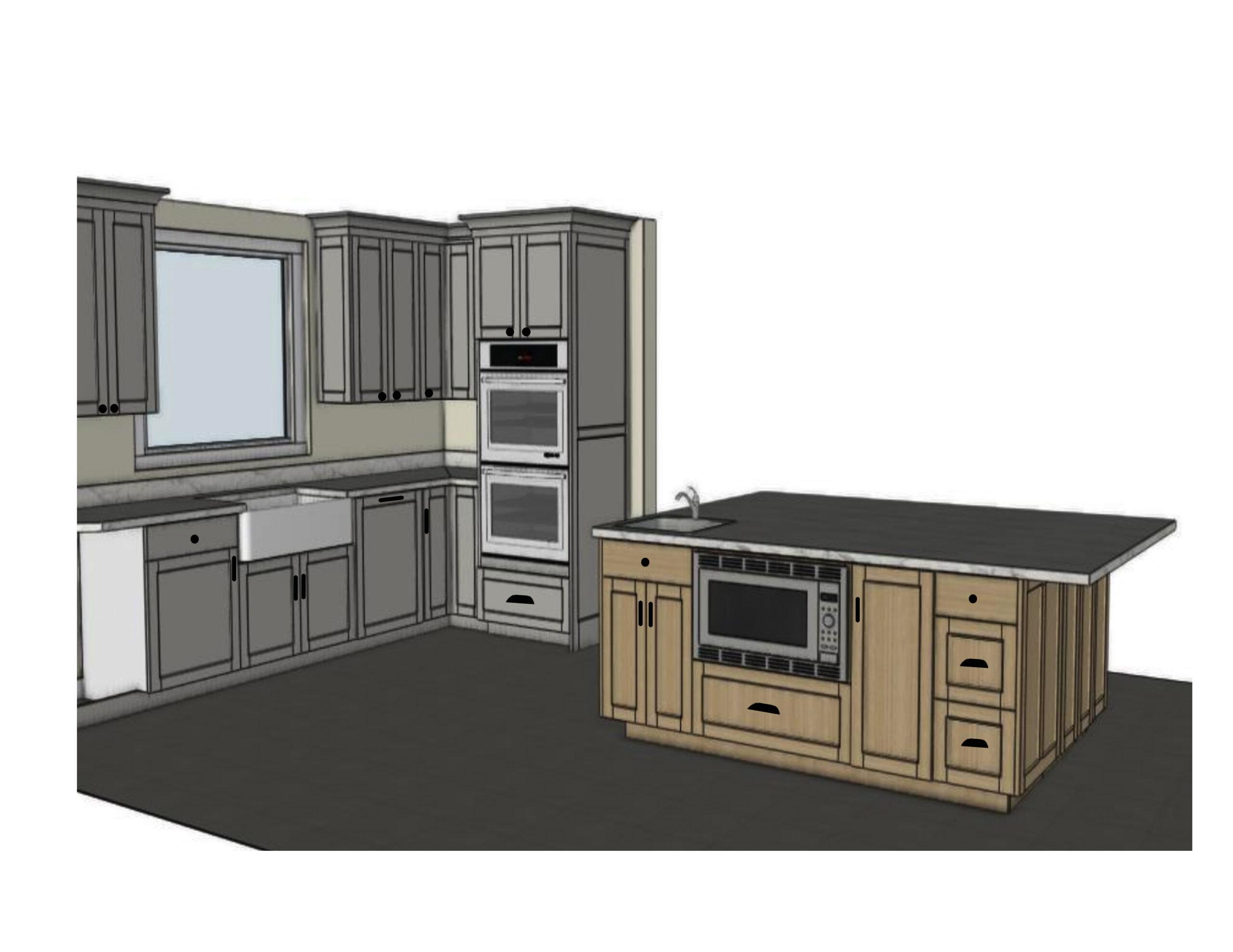 Kitchen rendering 1