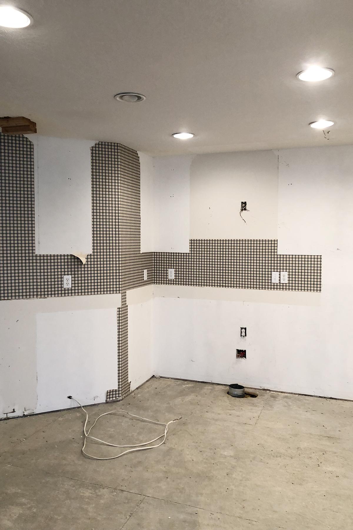 Midway kitchen in progress 6