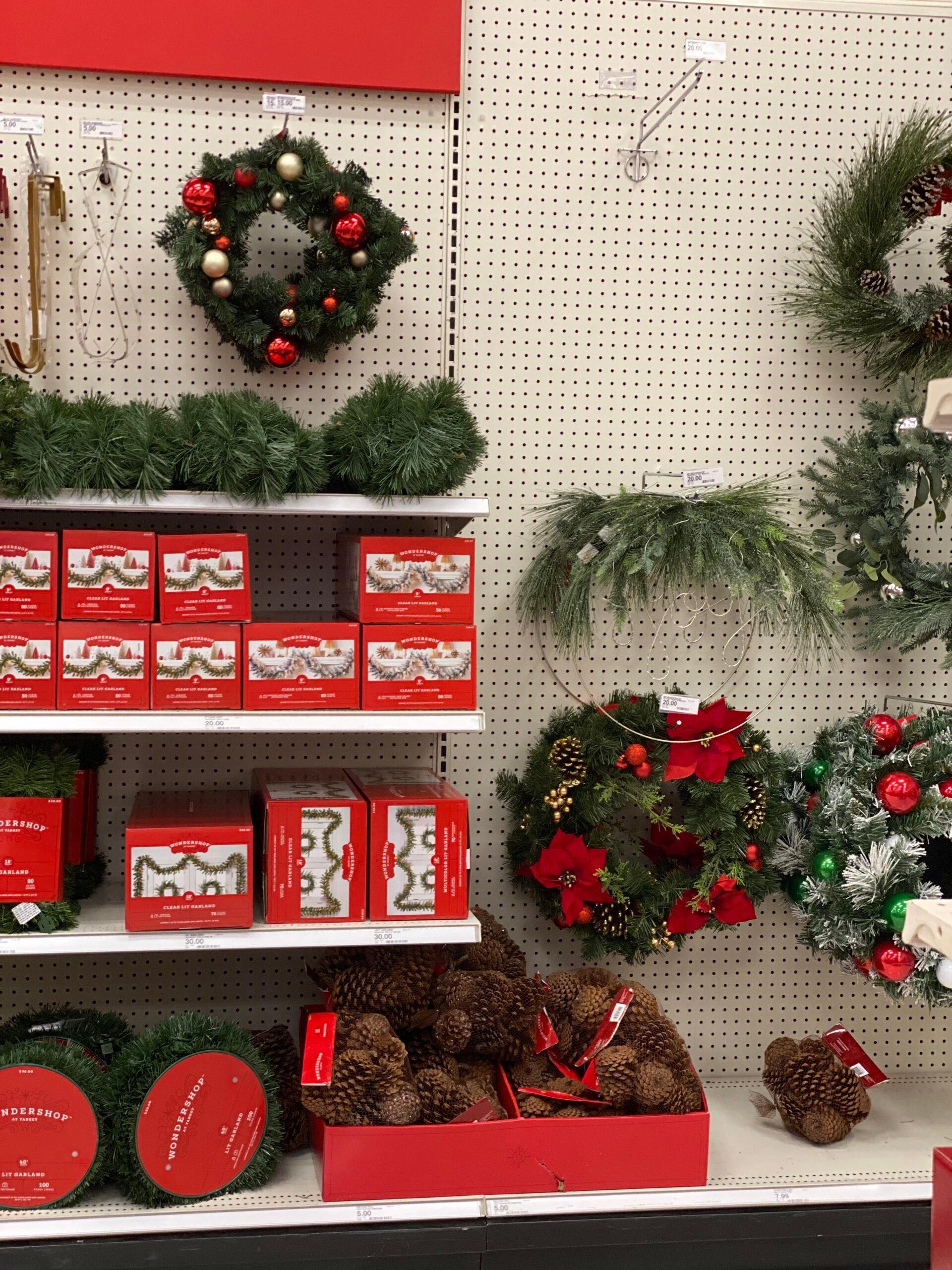 Target Christmas Decor