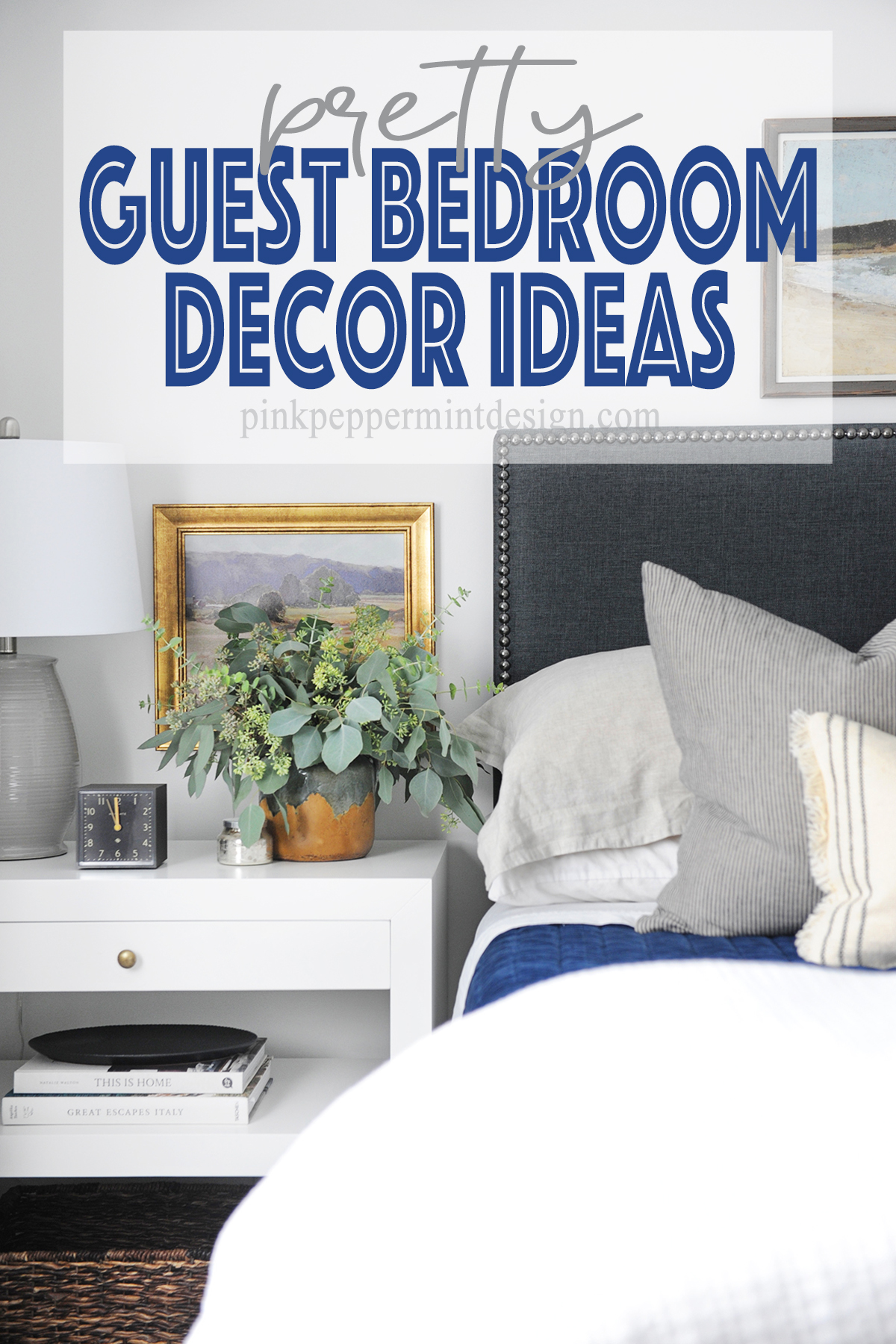 pretty guest bedroom decor ideas