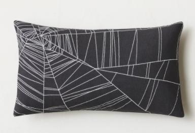 halloween cobweb pillow