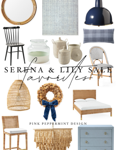Serena and Lily Sale Fall Design Event