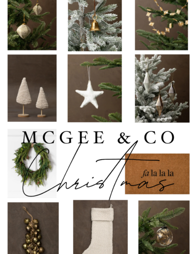 mcgee and co christmas decorations