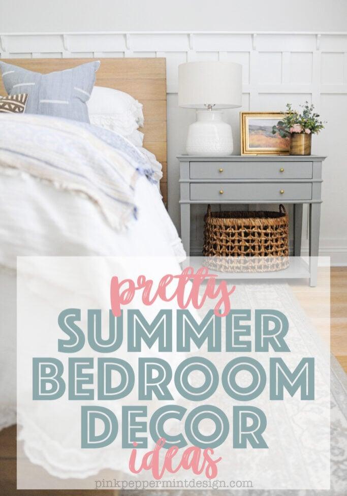 pretty summer bedroom decor ideas