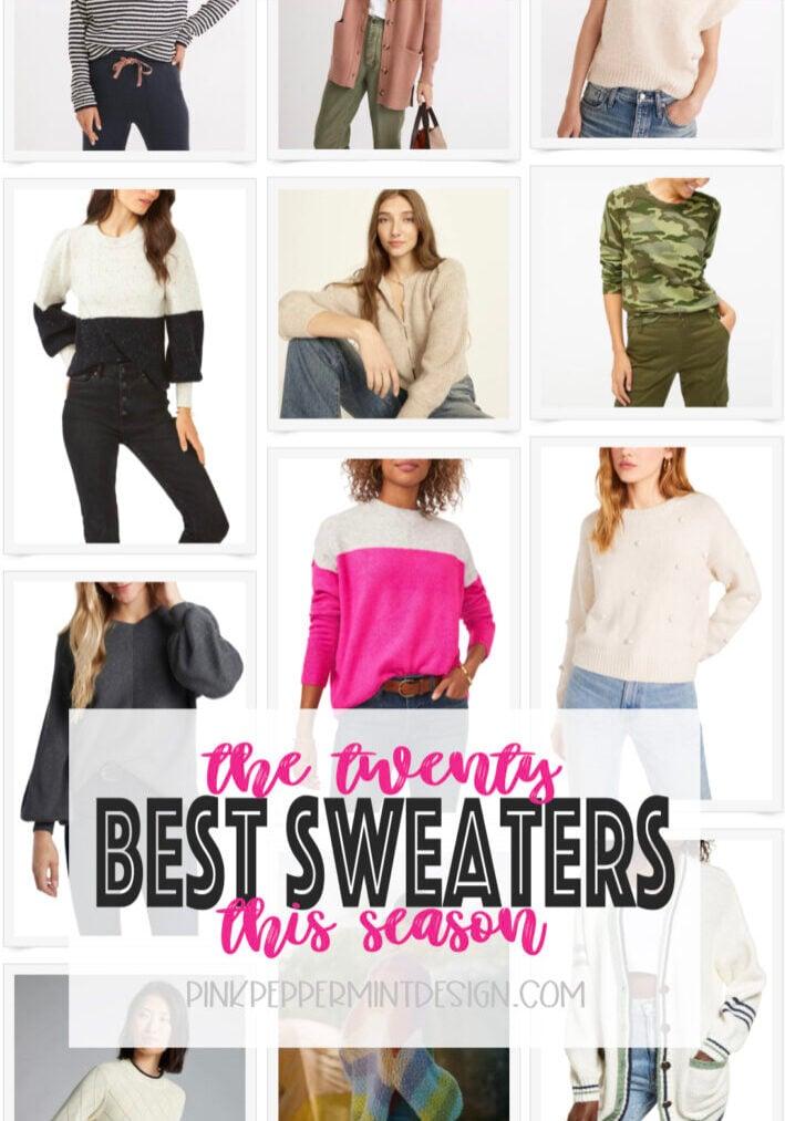 twenty best sweaters this season
